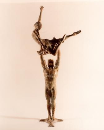 Sculpture and Sculptors Artist Kenneth ROBERTSON - La Bayadere