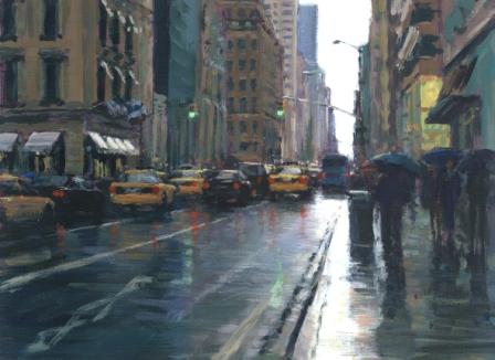 David FARREN - Late Afternoon Rain