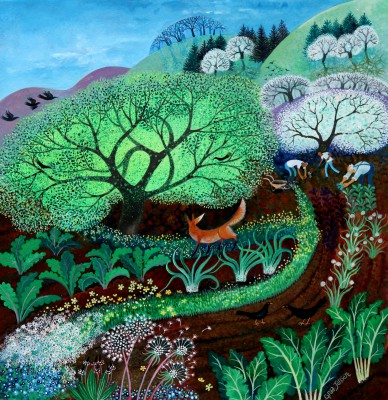 Lisa GRAA JENSEN, contemporary artist - Bold Fox