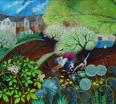 Lisa GRAA JENSEN, contemporary artist - The Sower