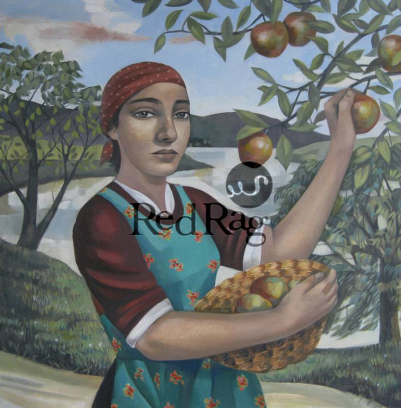 Elizabeth RIDGWAY - Apple Picking