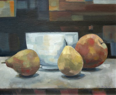 Elizabeth RIDGWAY - Apples and Pears