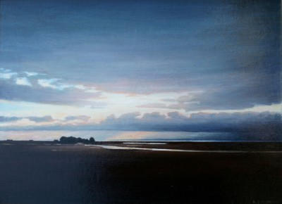 Louis S McNALLY, contemporary artist - Out to Sea