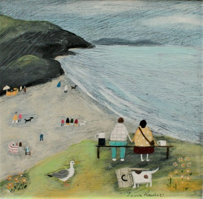 British Artist Louise RAWLINGS - Perfect Day Out