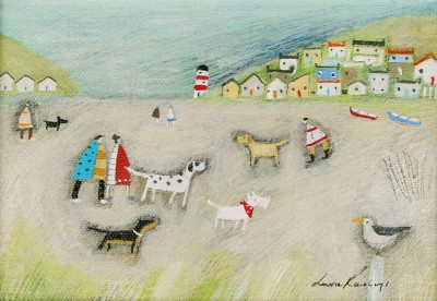 Louise RAWLINGS - Down at the Dog Beach