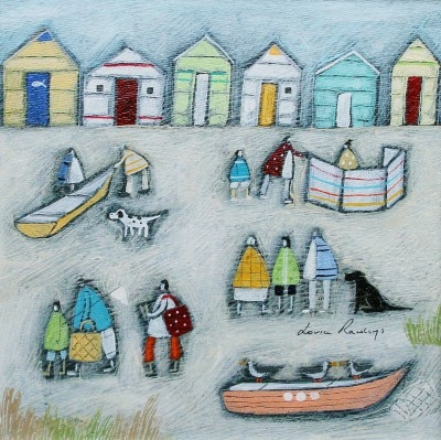 Louise RAWLINGS - Putting up the Windbreak