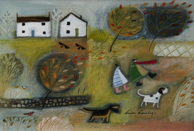 British Artist Louise RAWLINGS - A Sudden Gust