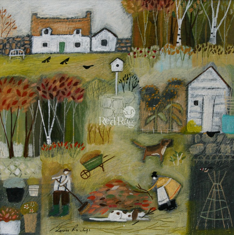 Louise RAWLINGS - Autumn in the Garden