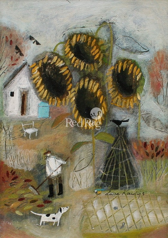 Louise RAWLINGS - Last of the Sunflowers