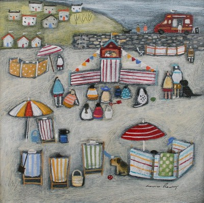 British Artist Louise RAWLINGS - Puppet Show