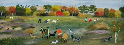 British Artist Louise RAWLINGS - October Morning Meetup