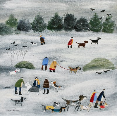 British Artist Louise RAWLINGS - Our Best Winter Coats