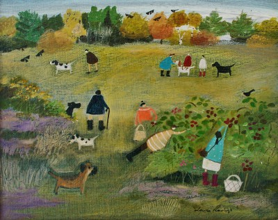 British Artist Louise RAWLINGS - Never Pick the Low Berries