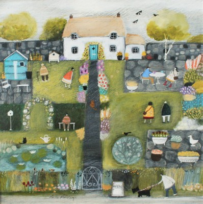 British Artist Louise RAWLINGS - Time for Open Gardens