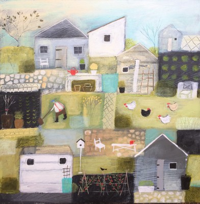 British Artist Louise RAWLINGS - Six Sheds