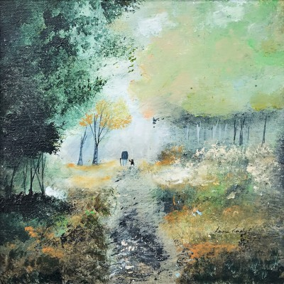 British Artist Louise RAWLINGS - Solitude