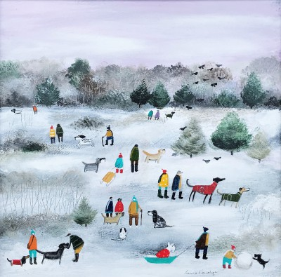 British Artist Louise RAWLINGS - Boxing Day Morning