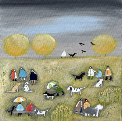 British Artist Louise RAWLINGS - A Break in the Grey