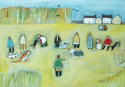 British Artist Louise RAWLINGS - Saturday Morning Beginners Group