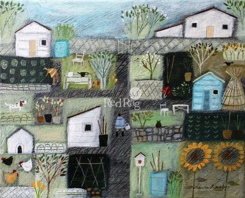 Louise RAWLINGS - The Blue Shed