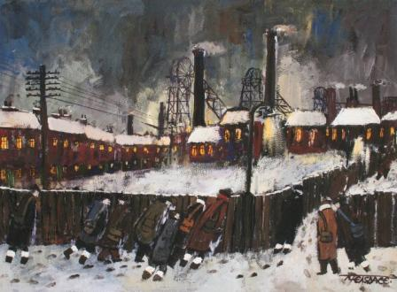 Malcolm Teasdale - Colliery Lights