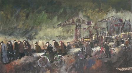 Malcolm Teasdale - Shipyard Workers