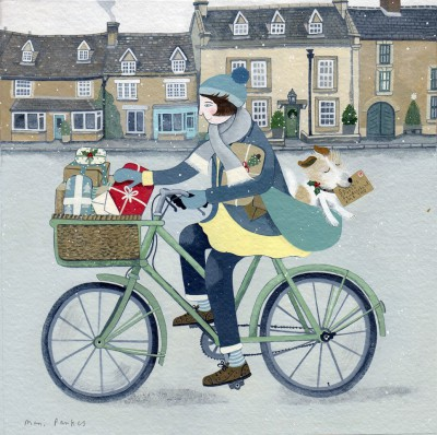 British Artist Mani PARKES - The Christmas List