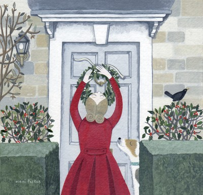 British Artist Mani PARKES - Deck the Halls