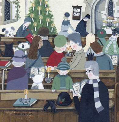 British Artist Mani PARKES - Merry Christmas, My Love