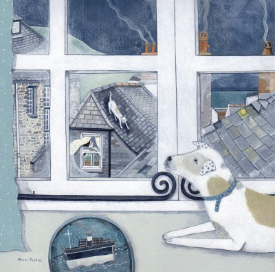 British Artist Mani PARKES - It Must be Tea Time