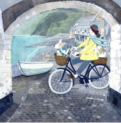 British Artist Mani PARKES - Whizzing Along Down Along