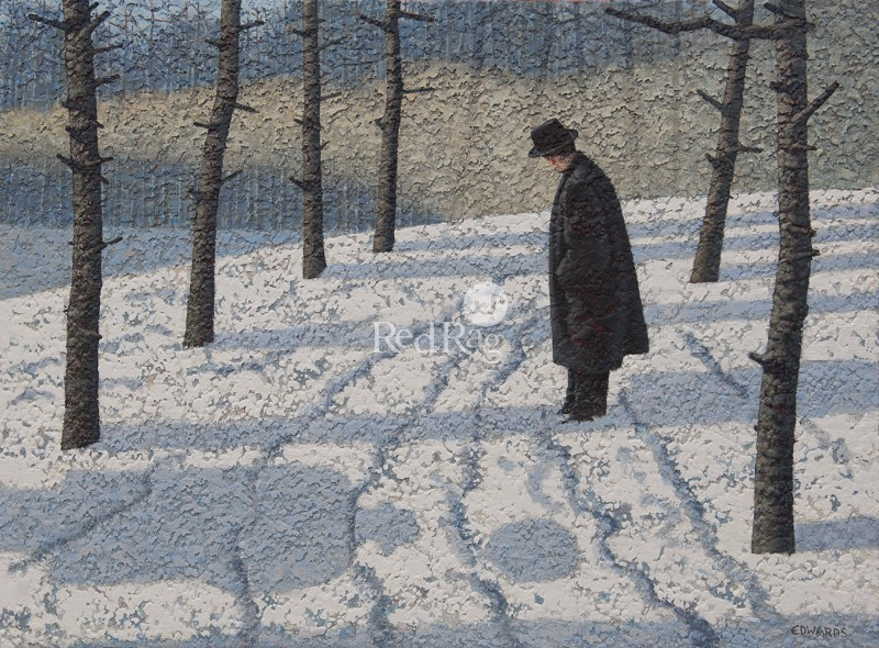 Mark EDWARDS - Man with a Red Balloon
