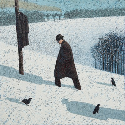 Mark EDWARDS - Walking Past the Coat