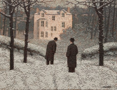 British Artist Mark EDWARDS - Finding the House