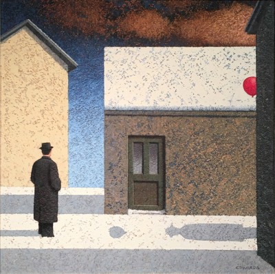 British Artist Mark EDWARDS - The Green Door