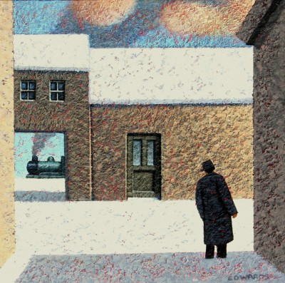 British Artist Mark EDWARDS - Waiting For The Others