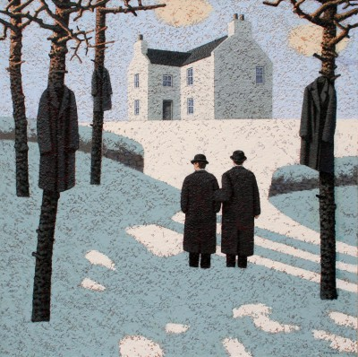 British Artist Mark EDWARDS - Waiting To Be Called