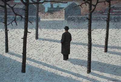 British Artist Mark EDWARDS - The Last Train