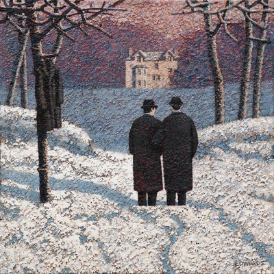 British Artist Mark EDWARDS - Waiting For Their Brother