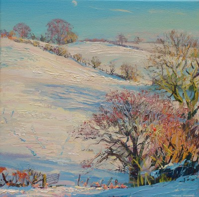 Mark PRESTON - Clear Winter's Day, Turnditch