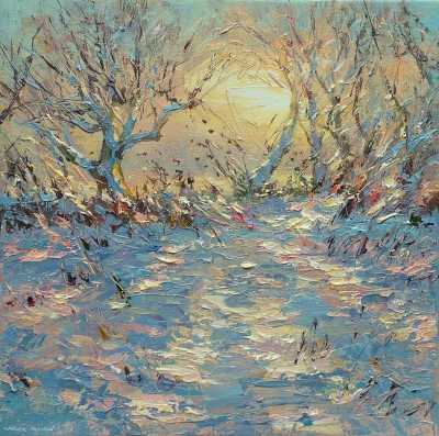 Mark PRESTON - Winter Sun, Brailsford