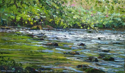 Mark PRESTON - Across the River, Dovedale