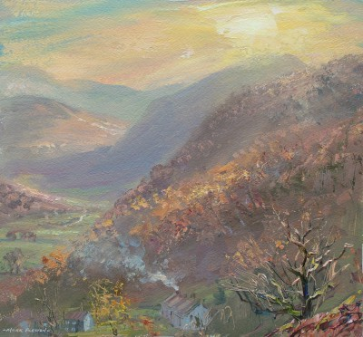 Mark PRESTON - Late November Afternoon, Seatoller