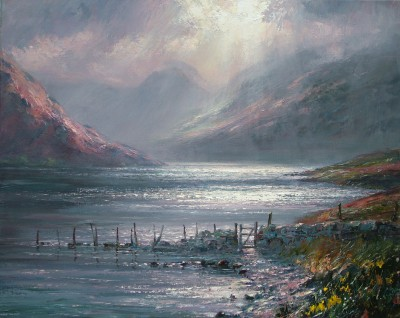 Mark PRESTON - October Morning, Crummock Water