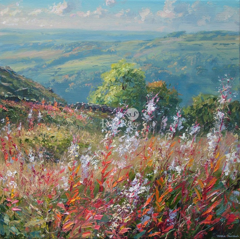 Mark PRESTON - Rosebay Willowherb, Curbar Gap