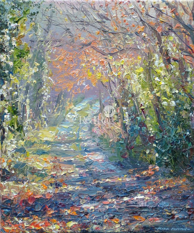 Mark PRESTON - Sunlit Lane, Wirksworth