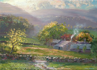 Autumn Sunlight, Lowpark Cottage, Loweswater