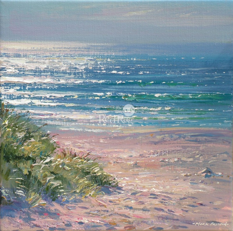 Mark PRESTON - Summer Evening, Sennen Cove