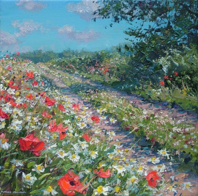 Mark PRESTON - Track Through the Poppies, Ednaston