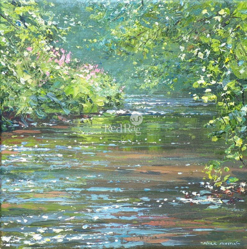 Mark PRESTON - Summer Reflections, Dovedale